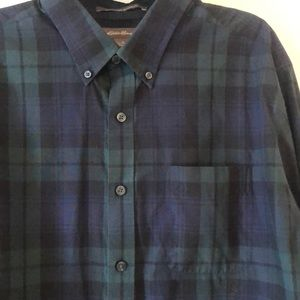 Eddie Bauer wrinkle free shirt big and tall